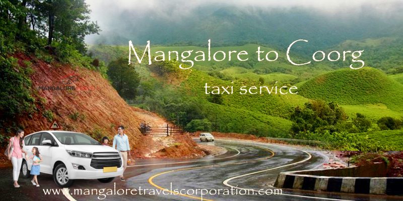 Mangalore to Coorg taxi service